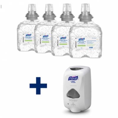Purell TFX Gel Hand Sanitiser Bundle