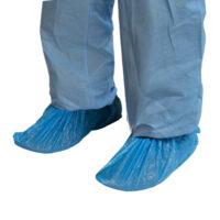 PE Shoe Cover Blue Waterproof CTN/2000