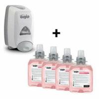 GOJO FMX Push Button Luxury Foam Handwash Bundle