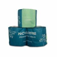 Novarre Premium 2Ply Toilet Paper 400 Sheet (2010) CTN/48