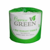 Caprice Green 2Ply Recycled Toilet Paper (700C) CTN/48