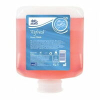 Deb Refresh Rose Foam Hand Wash 1L Refill Pod