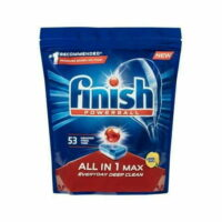 Finish Powerball Dishwasher Tablets Lemon (53 Tablets)