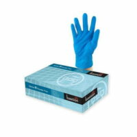 Blue Nitrile Heavy Duty Powder Free Gloves