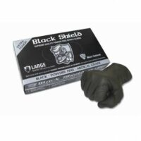 Black Shield Nitrile Gloves
