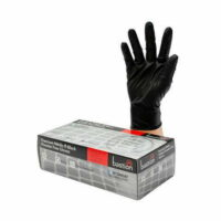 Premium Black Nitrile Heavy Duty Gloves