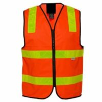 HiVis Vicroads Safety Vests with Tape Red