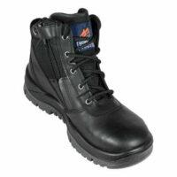 Mongrel Black Zip Sider Safety Boot