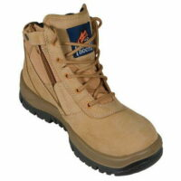 Mongrel Wheat Zip Sider Safety Boot