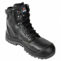 Mongrel Black Boot with Scuff Cap