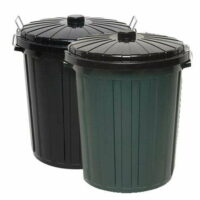 55L Round Rubbish/Garbage Bin