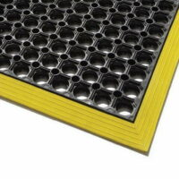 Engineers Cushion Mat with Safety Border