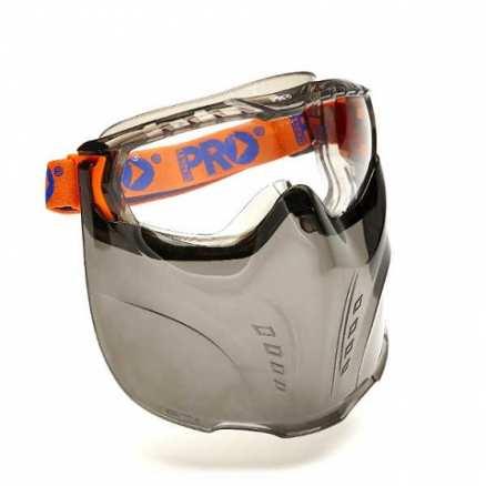 Vadar Goggle Visor Combination - Clear