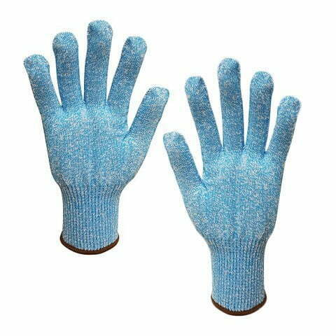 Cut 5 Food Grade Blue Liner Glove