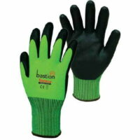 Soroca Hi-Vis Green Nitrile Micro Foam Cut 5 Glove (Pair)