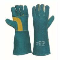 Lefties Welding Gloves Green 40Cm