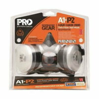 A1+P2 Respirator Kit  Twin Filter Half Mask