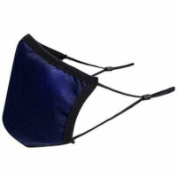 Triple Layer Anti-Microbial Fabric Reusable Face Mask - Navy