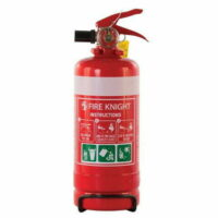 ABE Fire Extinguisher Flame Fighter With Bracket 1kg