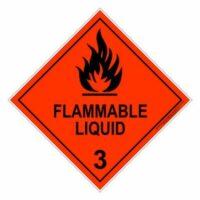 Flammable Liquid 3 - Metal