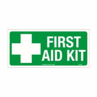 First Aid Kit Sign - Poly