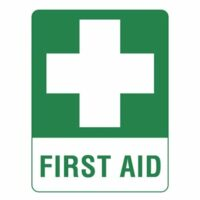 First Aid Sign - Sticker