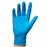 Amarock Nitrile Powder Free Gloves Blue