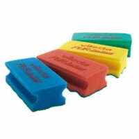 Colour Coded Sponge Scourer