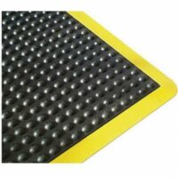 Ergo Tred Anti-Fatigue Mat With Yellow Edge