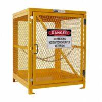 4 Bottle - Forklift Gas Cylinder Storage Cage