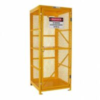 8 Bottle - Forklift Gas Cylinder Storage Cage