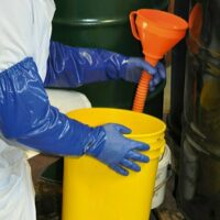Nitrile Extended Chemical Glove 65cm