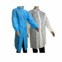 Amarock Disposable Lab Coat Polypropylene 40gsm
