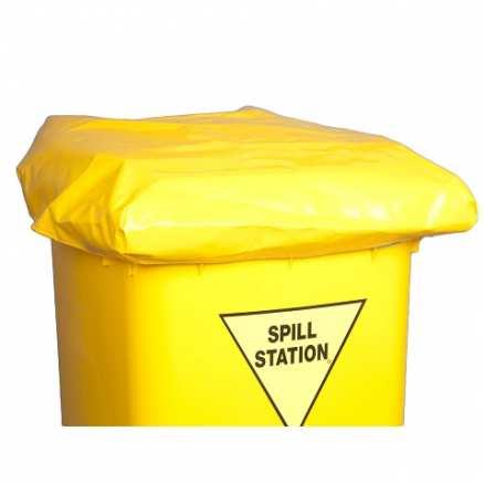 PVC Bin Cover For Spill Kits