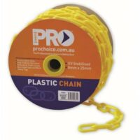 Yellow Safety Chain 25m