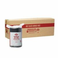 80L Premium Black Bin Liners on Roll CTN/250