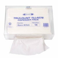 Folded Cleaning Cloth 130 Wipes 35 x 42.5cm (Ctn)