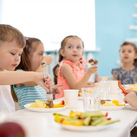 lunchroom supplies for childcare centers
