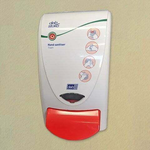 Push Button Sanitiser