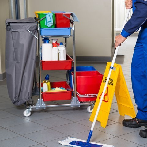 Janitorial & Cleaning Carts