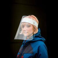 Disposable Face Shield  - APET Open Top