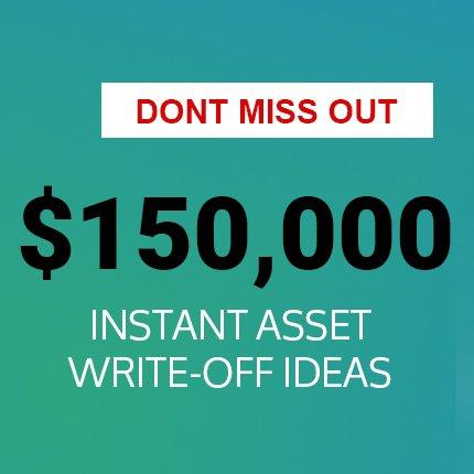 EOFY Instant write off ideas