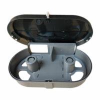 Economy Double Jumbo Roll Dispenser- ABS Black