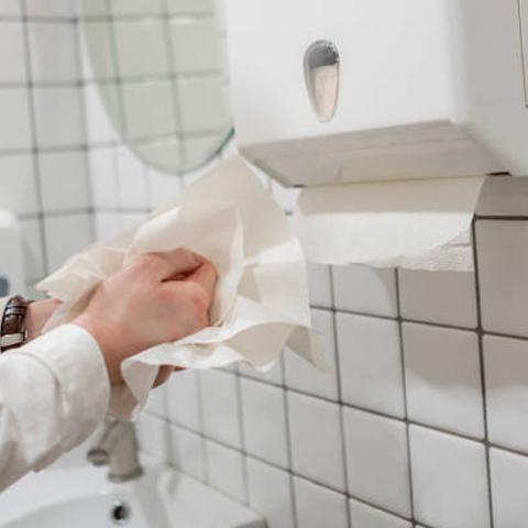 Interleaved Hand Towel